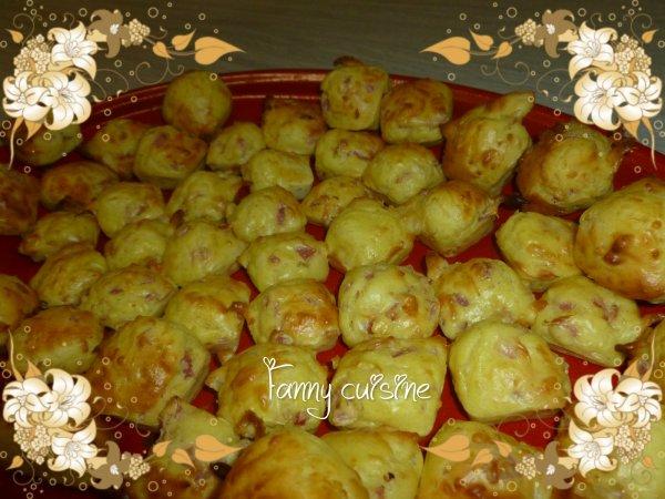Madeleines au jambon