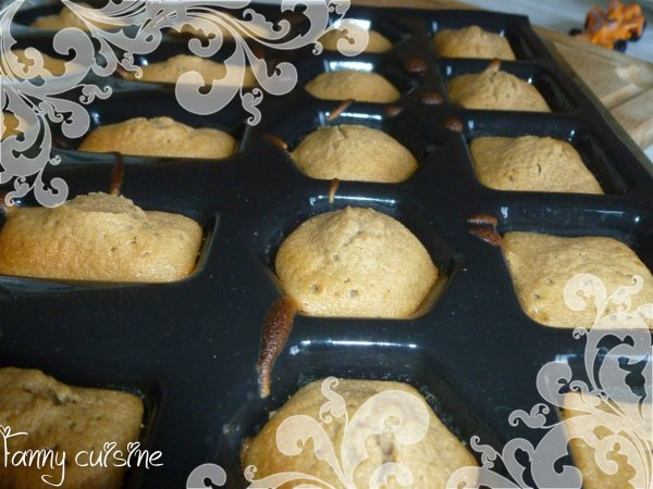 Cake aux carambars version mini bouchées au thermomix