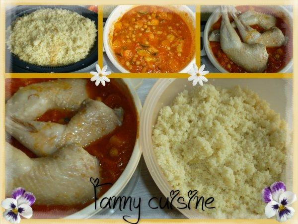 Couscous poulet / merguez au thermomix