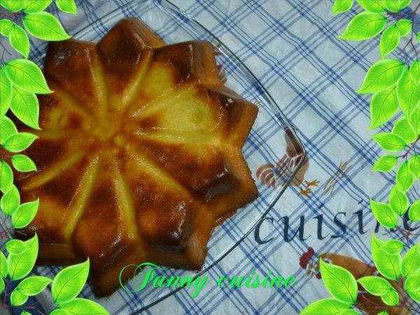 Gâteau magique à la vanille faite au thermomix