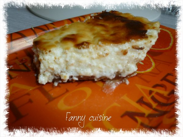 Cheesecake au fromage blanc et aux speculoos au thermomix