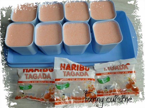 yaourt au fraise tagada de mon partenariat {3}