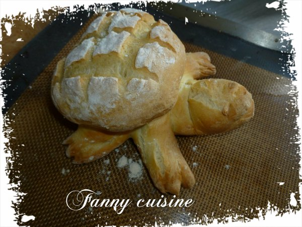 Ma tortue (pain) au thermomix