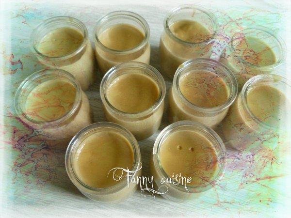 Cremes au café avec extrait de café (maison) fait au thermomix