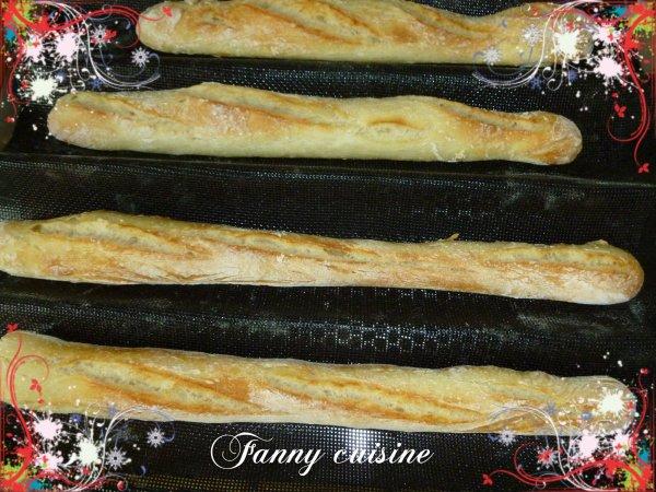Baguettes au thermomix