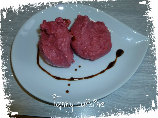 Sorbet aux fruits rouges au thermomix