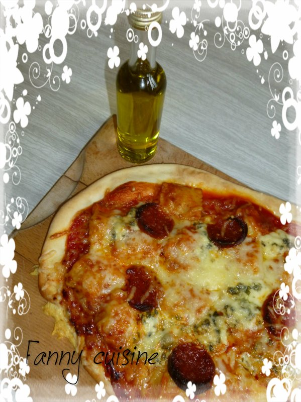 Pizza maison au thermomix