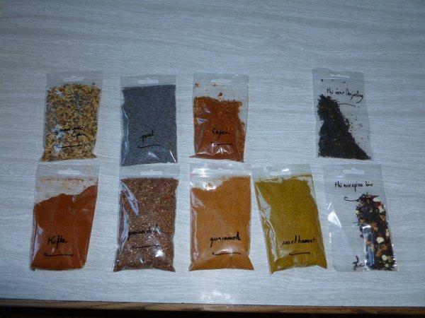 De nouveaux produits a tester de la part de l'Ile aux épices