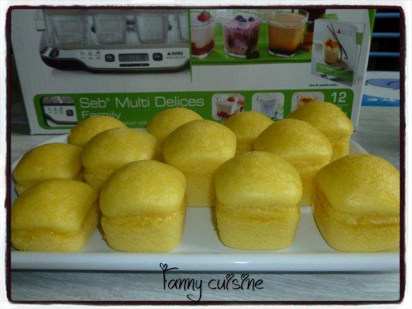 Gâteaux au yaourt dans la multi délices