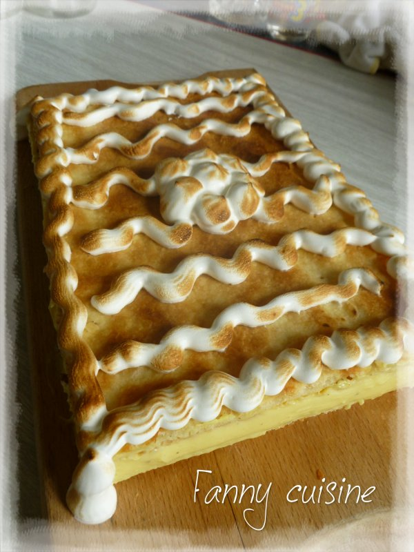 Mille feuilles au thermomix