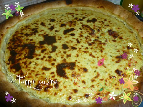 Tarte courgettes ricotta au thermomix