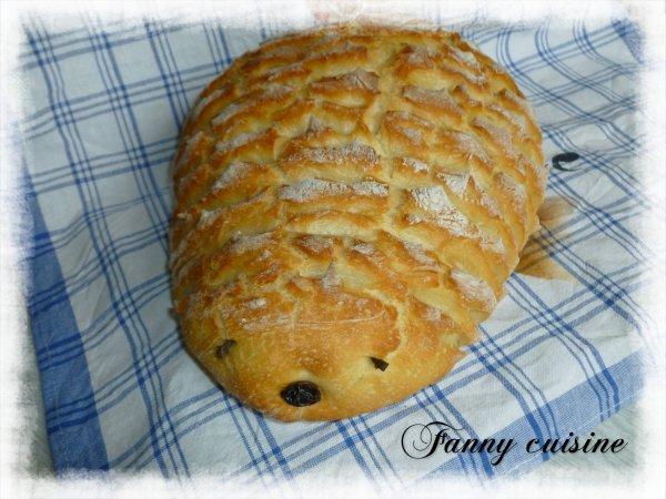 Hérisson pain cuisson cocotte au thermomix
