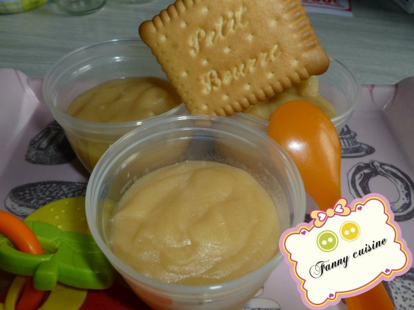 Compote pomme/biscuit au thermomix