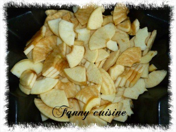 Fondant rapide aux pommes au thermomix