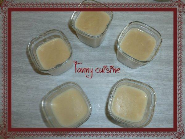 Crèmes aux petits beurres au thermomix