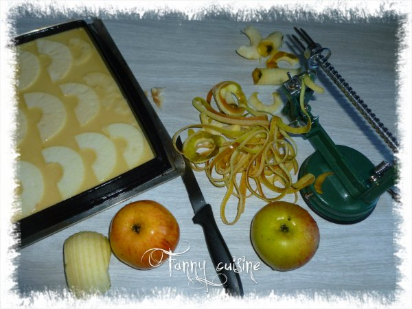Tranches fondantes aux pommes au thermomix