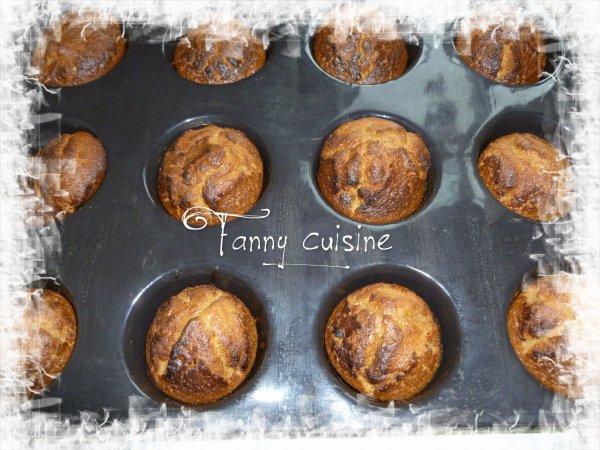 Muffins au carambars au thermomix