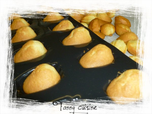 Mini madeleines au thermomix