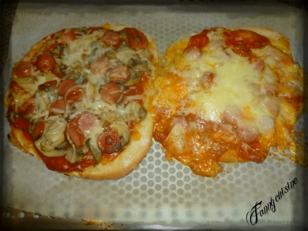 Pizzas au thermomix