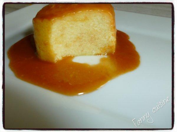 Flan brioché, caramel beurre salé dans la multi délices
