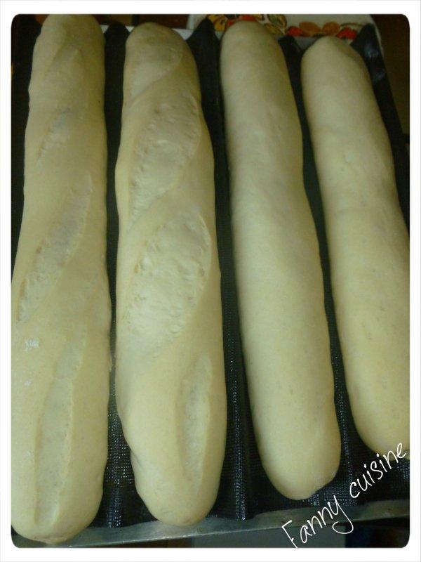 Baguettes de Cécile avec le tang zhong au thermomix