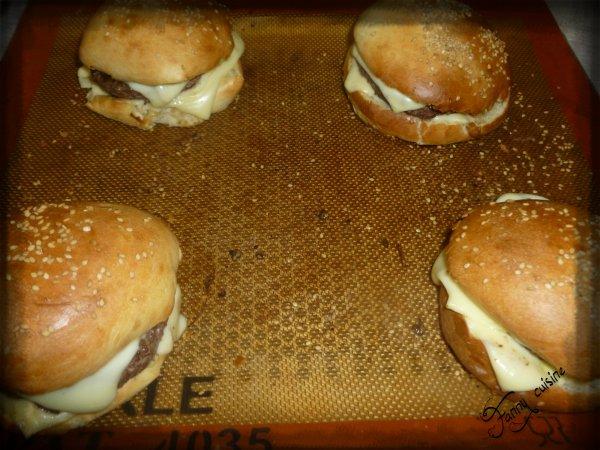 Hamburgers maison au thermomix