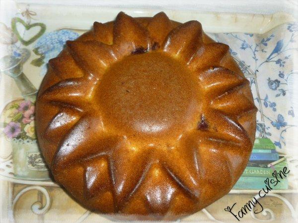Gâteaux au yaourt  marbré de gelée de mûres au thermomix