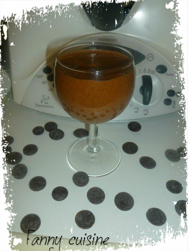 Mousse au chocolat extra au thermomix