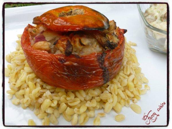 Tomates farcies  revisitées