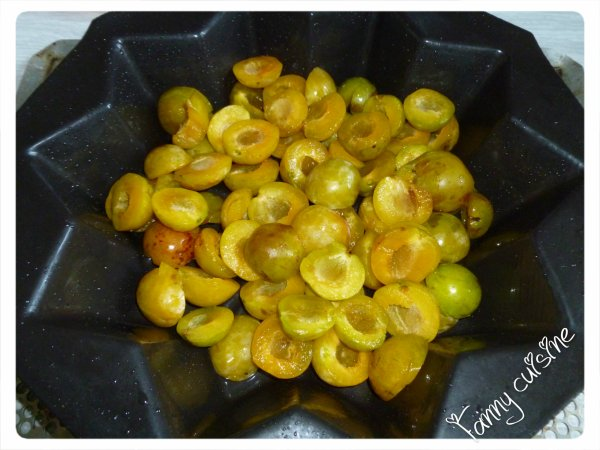 Clafoutis aux prunes au thermomix
