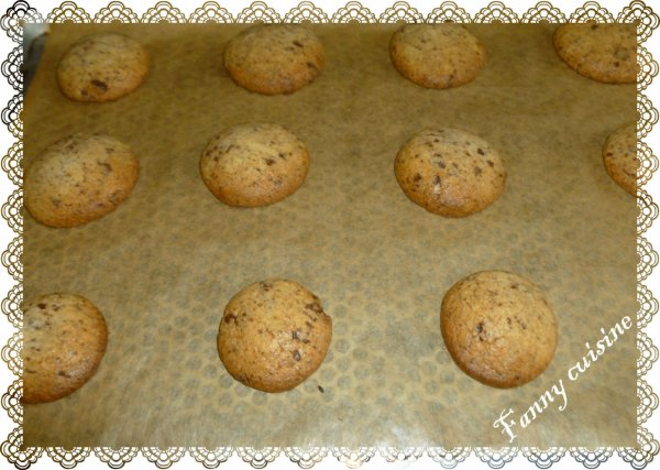 Cookies chocolat au thermomix