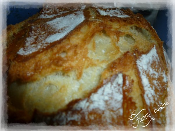 Pain au levain au thermomix