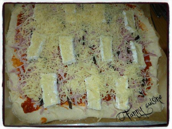 Pizzas au levain au thermomix