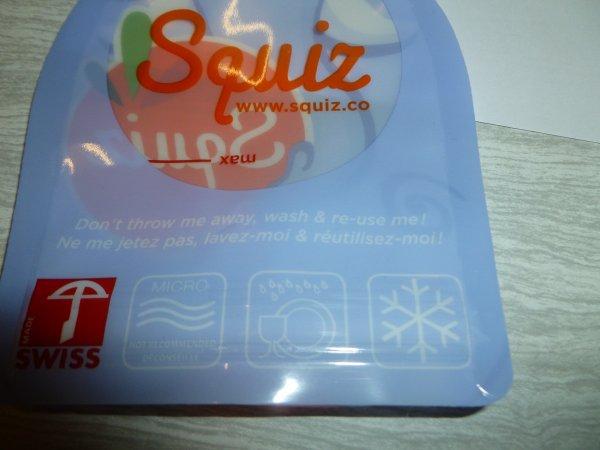 Mon nouveau partenariat Squiz , gourdes réutilisables. partenariat { 35 }