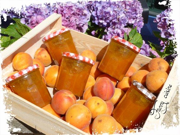 Confiture d'abricots, vanille au thermomix