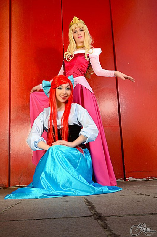 Ariel and Aurore