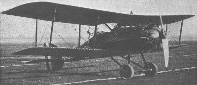 Avions militaires 14/18 anglais Austin Greyhound