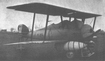 Avions militaires 14/18 anglais  Parnall Panther