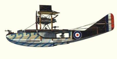 Avions militaires 14/18 anglais  Felixstowe F.2A