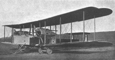 Avions militaires 14/18 anglais Vickers F.B.27 Vimy
