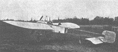 Avions militaires 14/18 français     Blériot XI