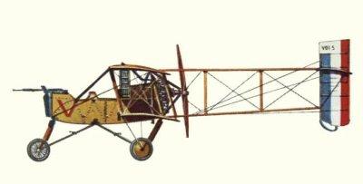 avion millitaire français guerre 14 18    Voisin 5