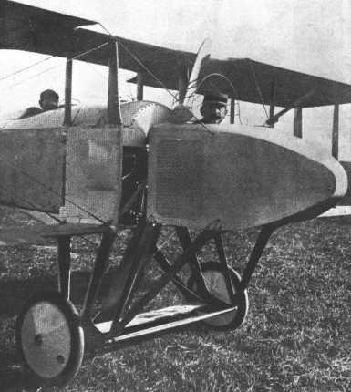 Avions militaires 14/18 français  Spad A.2