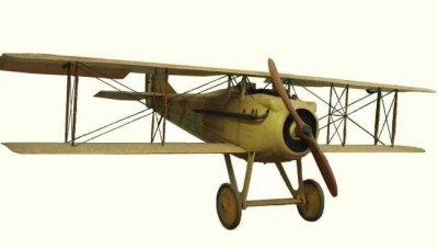 Avions militaires 14/18 françaisSpad VII