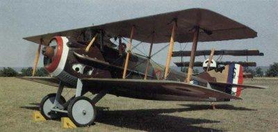 Avions militaires 14/18 français  Spad XIII