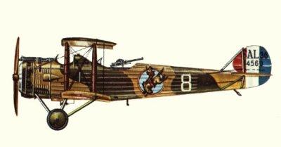 Avions militaires 14/18  français Salmson 2A.2