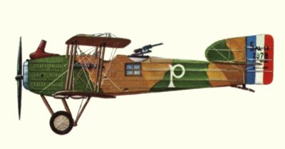 Avions militaires 14/18 français     Breguet  14