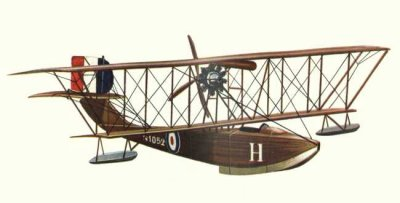 Avions militaires 14/18 français     F.B.A Type C