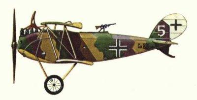 Avions militaires 14/18 allemands Halberstadt C.V