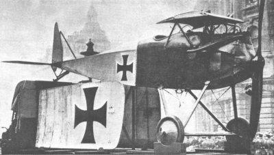 Avions militaires 14/18 allemands Halberstadt D.II